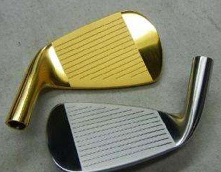 梅州高尔夫球头电镀